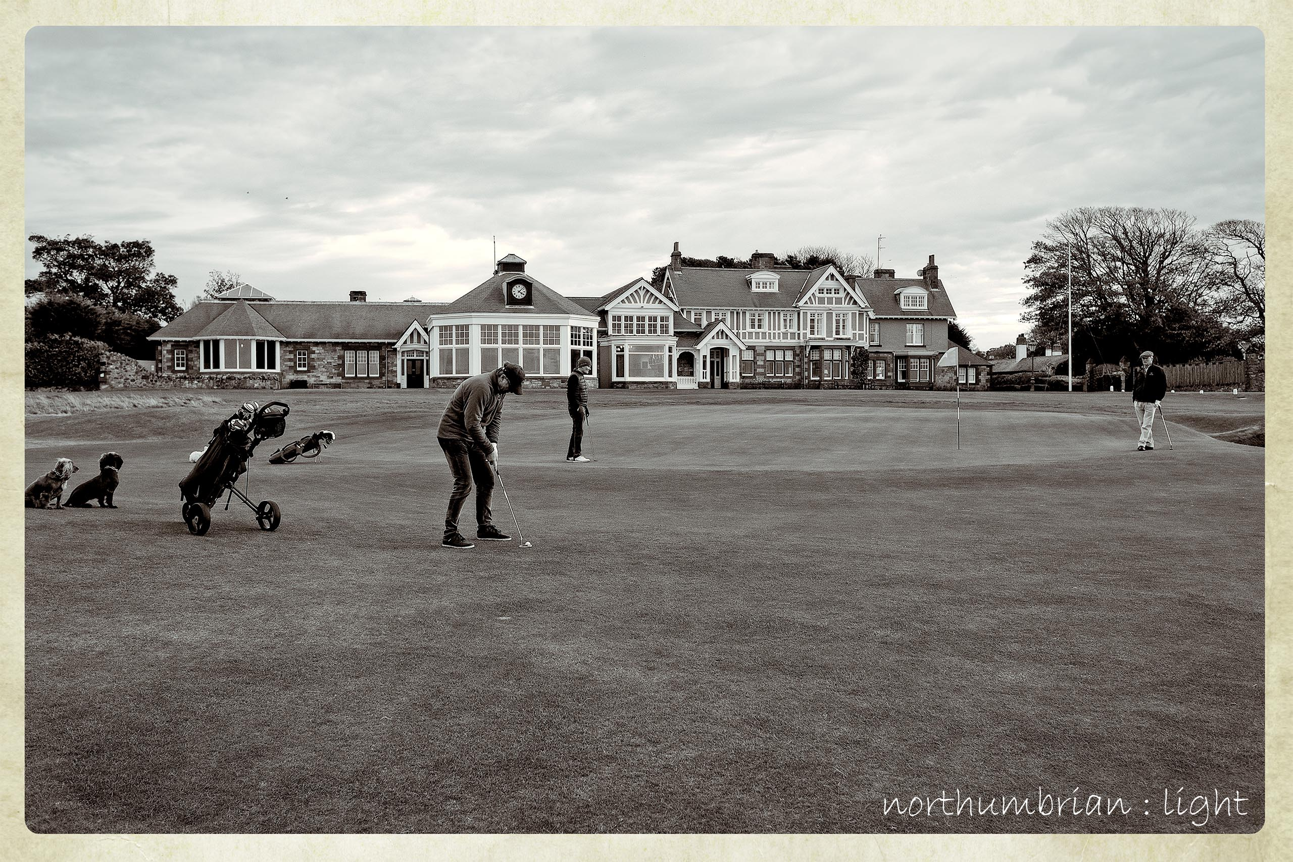 Muirfield's 18th green