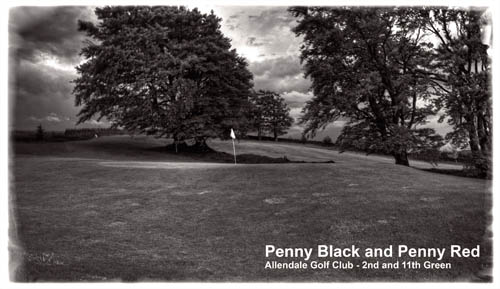 Penny Black and Penny Red