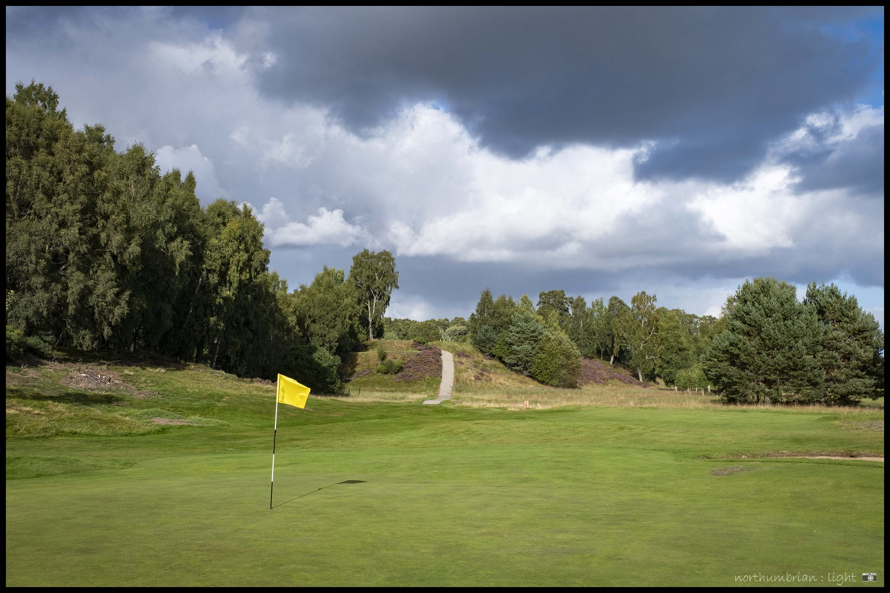 ... Carrbridge - a first round at this immaculately presented Highland course.
